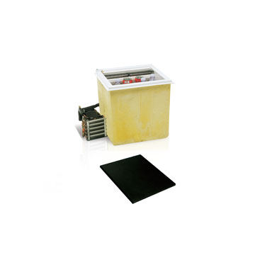 C40L top loading refrigerator (external cooling unit)