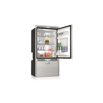 DW250 RFX upper refrigerator compartment and lower refrigerator compartment