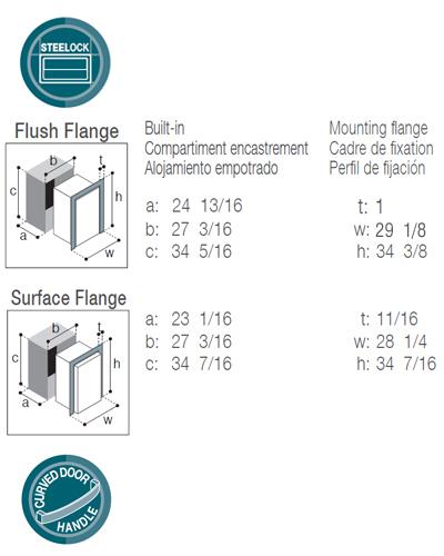 DW210IXN1-EFI double freezer with icemaker/freezer compartment