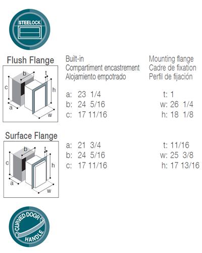 DW70RXN4-EF single freezer compartment