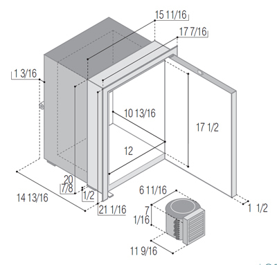 C42RXD4-F (external cooling unit)