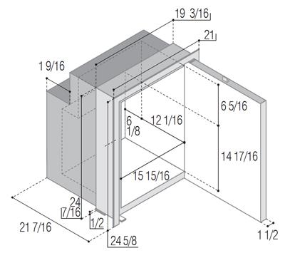 C90IXD4-F (internal cooling unit)