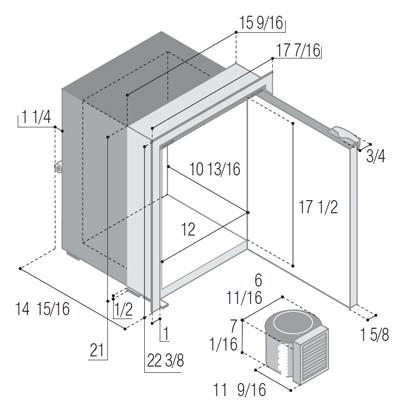 C42RBD4-F (external cooling unit)