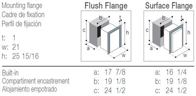 C55RBN4-F freezer (external cooling unit)