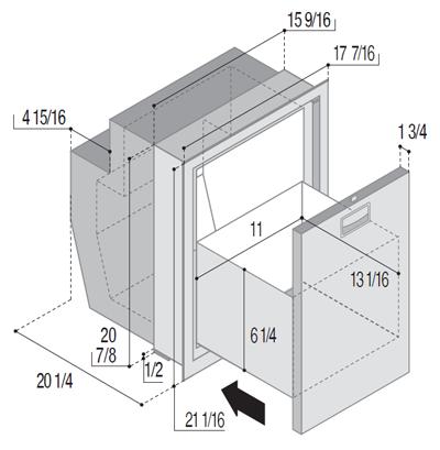 C51IXD4-F (internal cooling unit)