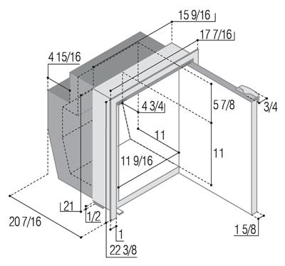C51IBD4-F (internal cooling unit)