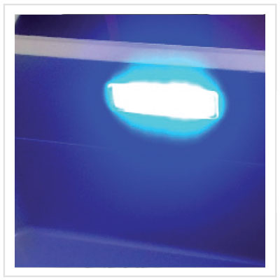 internal LED light