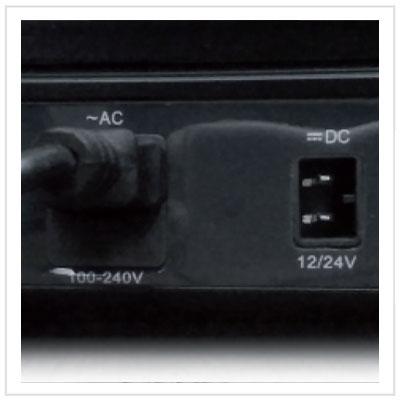 Dual power (12/24Vdc - 100/240Vac)