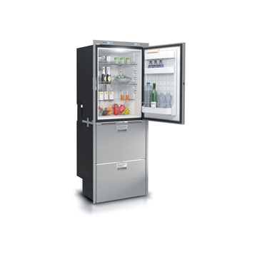 DW360 OCX2 BTX IM upper refrigerator compartment and lower freezer with icemaker/freezer compartment